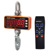 Digital Crane Scale 1000KG 1Ton 2000lb Hanging Scale Industrial Electric Scale Weighing Scale With Unit Conversion (No Battery)