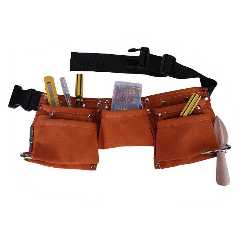 Tool Bag Waist Pockets Electrician Tool Bag Oganizer Carrying Pouch Tools Bag Belt Waist Pocket Case