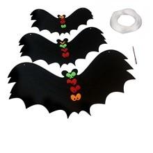 2019 Halloween Hanging Decoration Black Bat Backdrop Festival Party Diy Decorations Supplies Newest