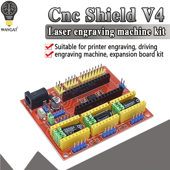CNC Shield V3 V4 Engraving Machine Compatible With Nano 3.0 / A4988 Driver Expansion Board Module for the 3D Printer Diy Kit - discount item  7% OFF Active Components
