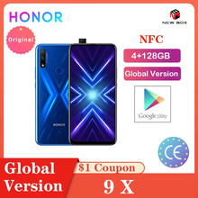 Ehre 9X 4GB 128GB Globale Version NFC Smartphone Triple 6.59