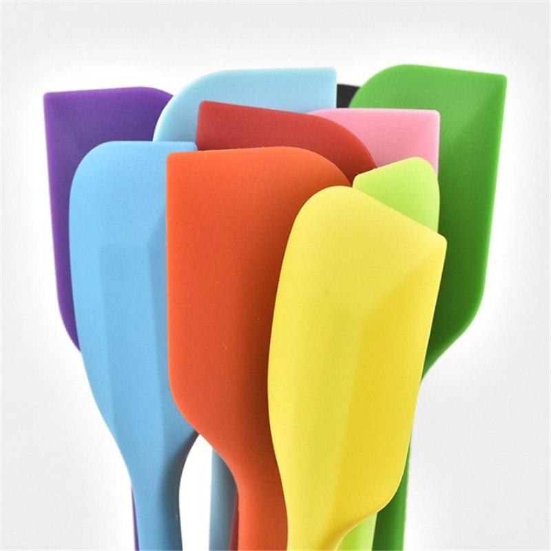 1 шт антипригарный силиконовый шпатель резиновый кухонный инструмент