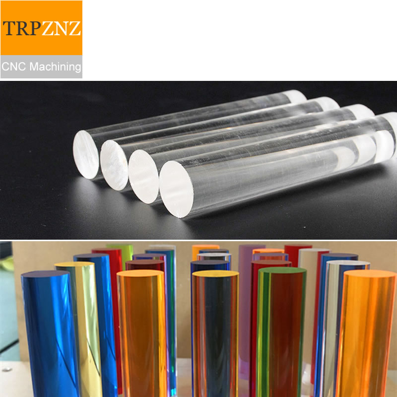 Custom Link,  Red, Orange, Green, Purple, Blue, And Pink, Each 500mm Length , Ship To Hungary,High Transparent Plexiglass Rod