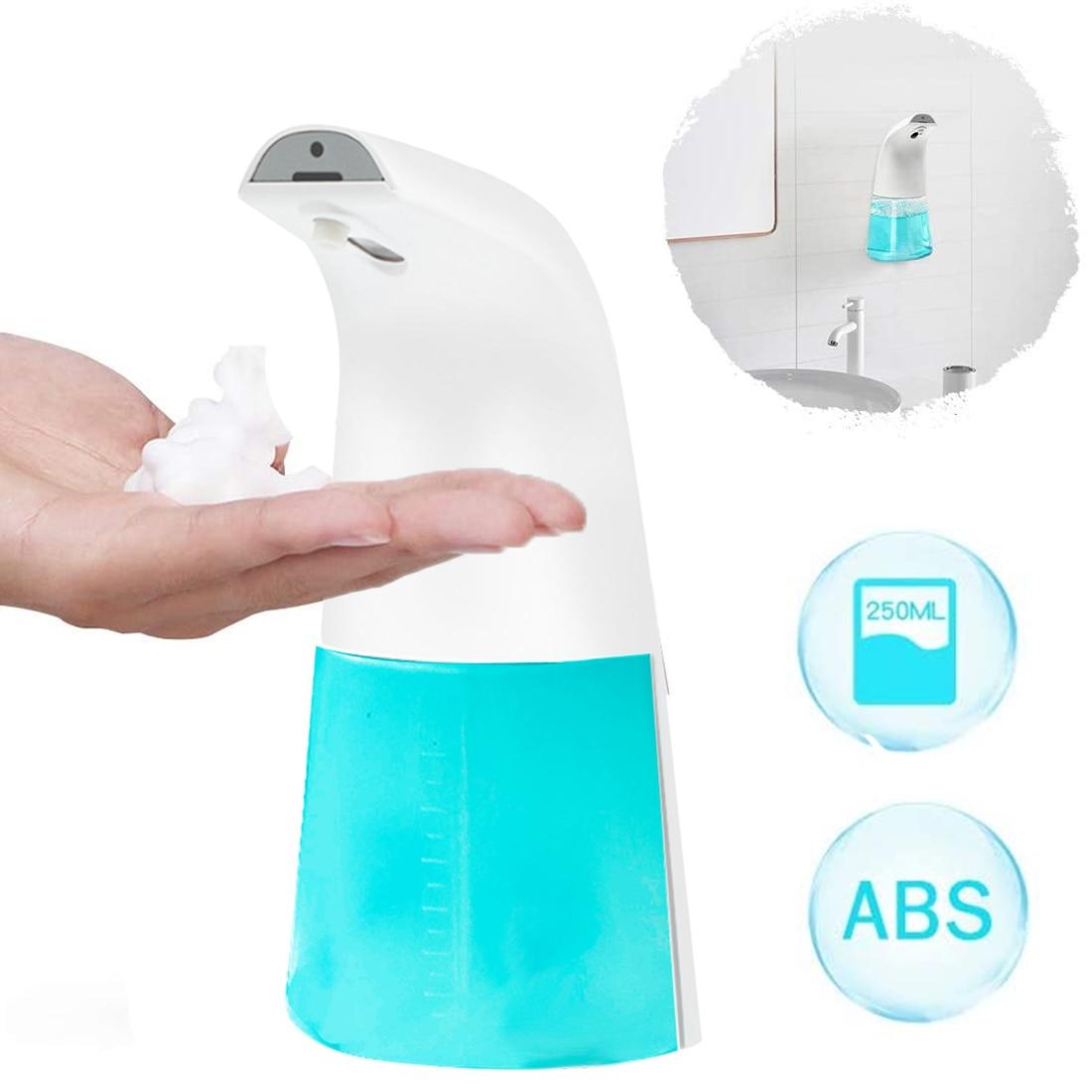 Infrared Foam Soap Dispenser Automatic Liquid Soap Dispenser Induction Sensing Hand Sanitizer Bottle For Bathroom Kitchen Hotel