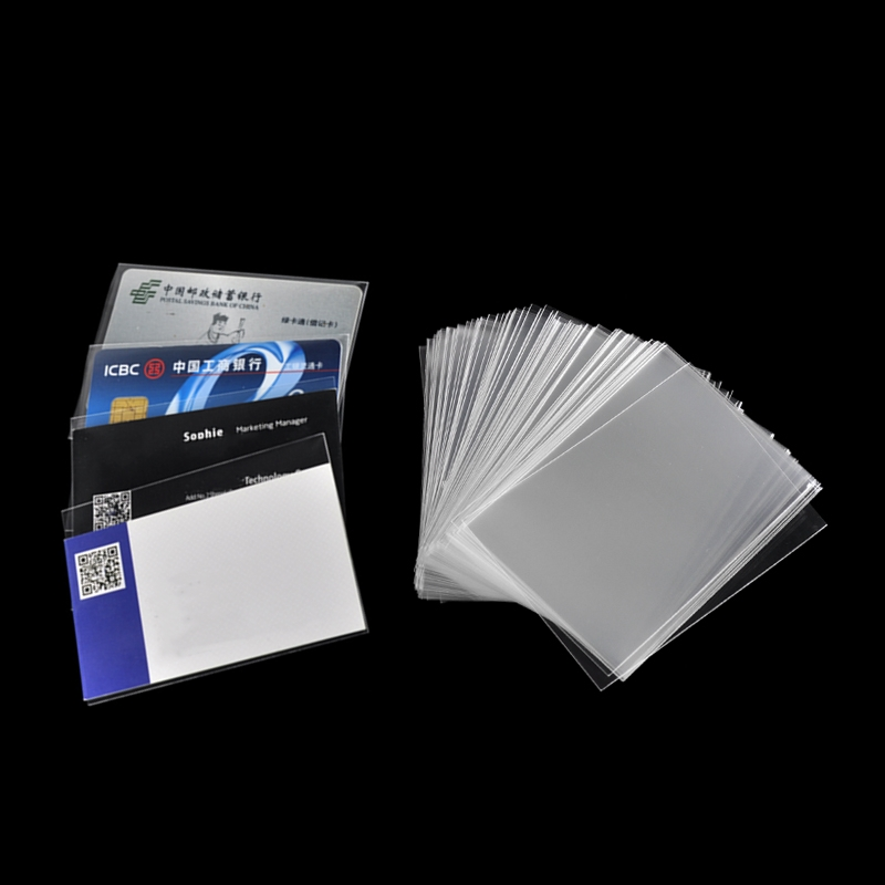 100pcs/pack 65*90mm Card Sleeves Magic Board Game Tarot Three Kingdoms Poker Board Game Outdoor Transparent Cards Protector