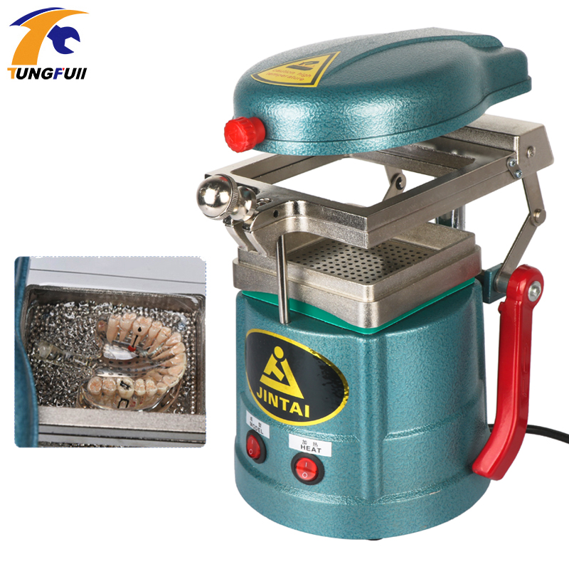 220V Dental Vacuum Forming Machine And Laminating Molding Machine Oral Material Making Tool 1000W Orthodontic Retainer