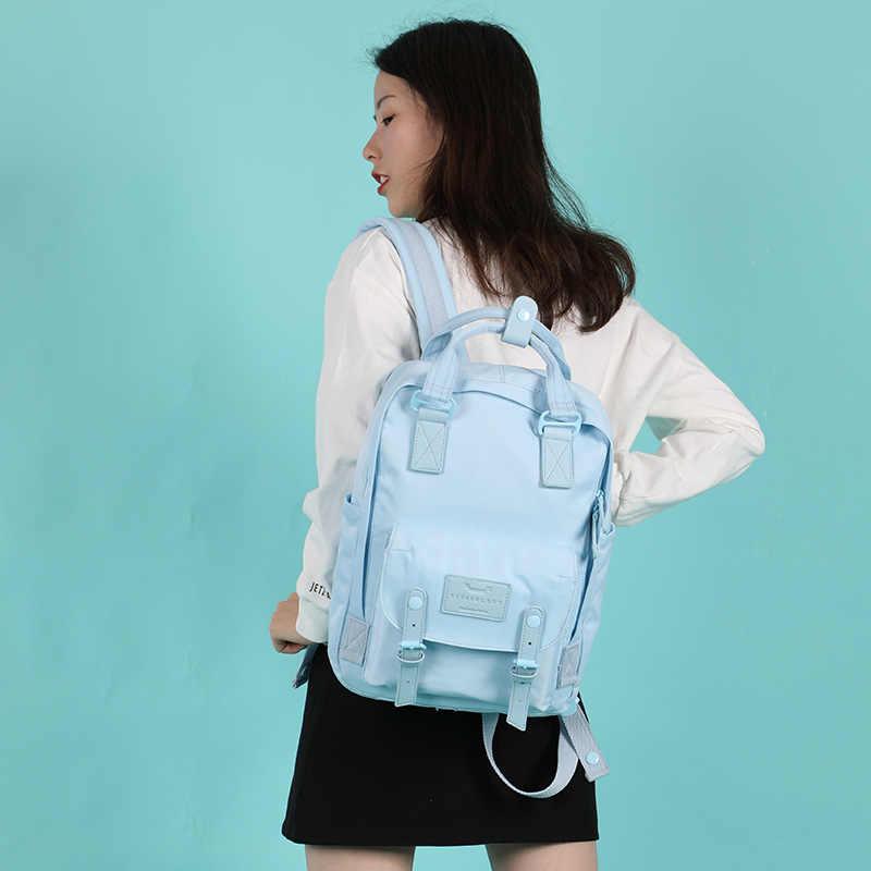 Wysokiej jakości projektant ładny wodoodporny plecak płócienny kobiet torba podróżna na co dzień plecak szkolny damski dla nastolatków Bookbag Luxury