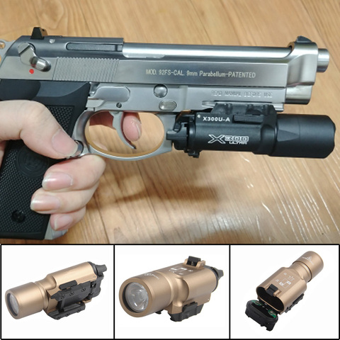 x300 19 luz arma de caca militar