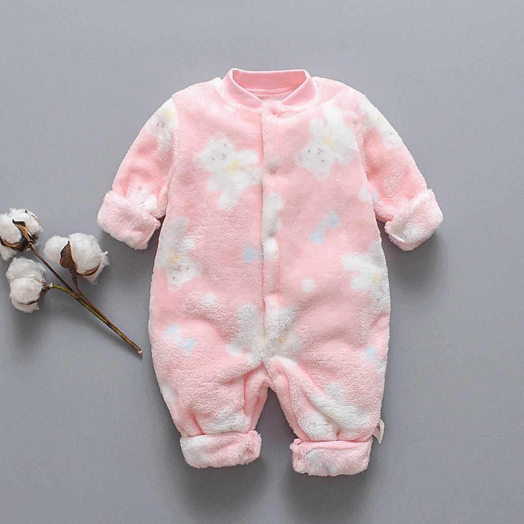תינוקת בגדי תינוק romper תינוקת romper חורף pudcoco ליל כל הקדושים תלבושות סרבל onesi קריקטורה דוב ארוך שרוול 0- 18m Z4