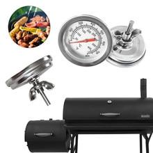 Aço inoxidável churrasco fumante grill termômetro medidor de temperatura barbecue cozinha bakeware termômetro churrasco ferramentas