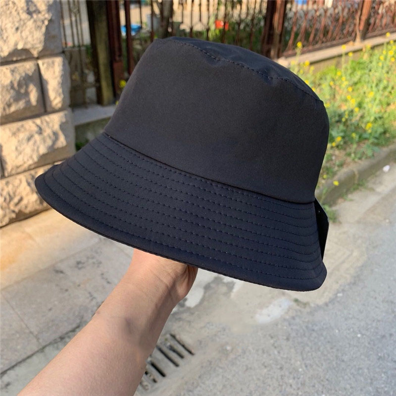 Unisex Pattern Bucket  Beach Sun Hat Street Headwear Fisherman Outdoor Cap Men and Woman Hat Solid Outdoors Travel