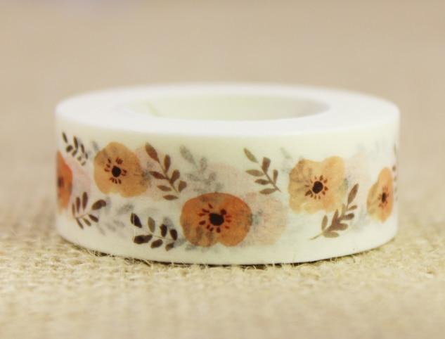 Green Fruit Washi Masking Tape(1piece)