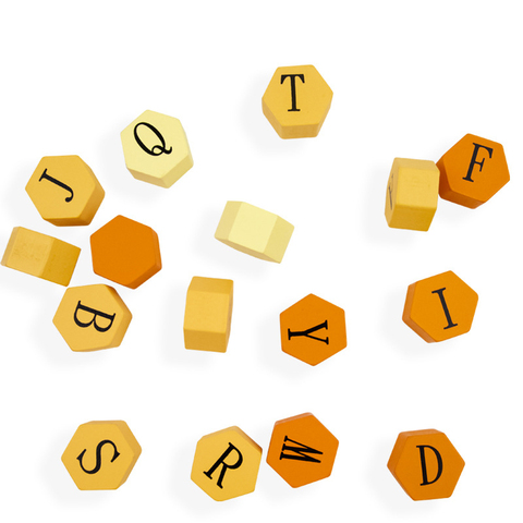 precoce alfabeto ingles cognitivo blocos de madeira