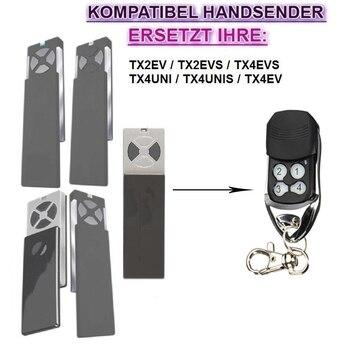 Replacement remote for TX2EV TX2EVS TX4EVS TX4UNI compatible remote control 433.92MHZ