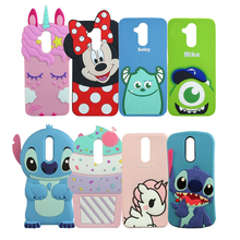 For Huawei Mate 20 Lite Case Sweet Sulley Minnie Unicorn Stitch 3D Sil