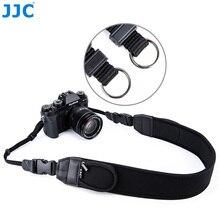 JJC מתכוונן שחרור מהיר קומפי מצלמה כתף צוואר רצועה עבור Sony 7 A7S A7R Mark II III Fujifilm X T3 X T2 X Pro2 X Pro1