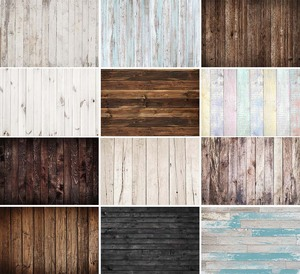 Photography Background Wood Board Texture Wooden Floor Newborn Baby Shower Photophone Photocall Backdrop Photo Studio Photophone