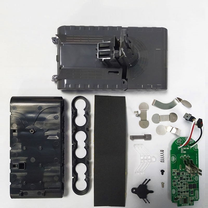 Battery Plastic Case Charging Protection Circuit Board PCB for Dy son V8 21.6V Absolute Animal Exclusive Vacuum Cleaner|Battery Storage Boxes| |  - title=