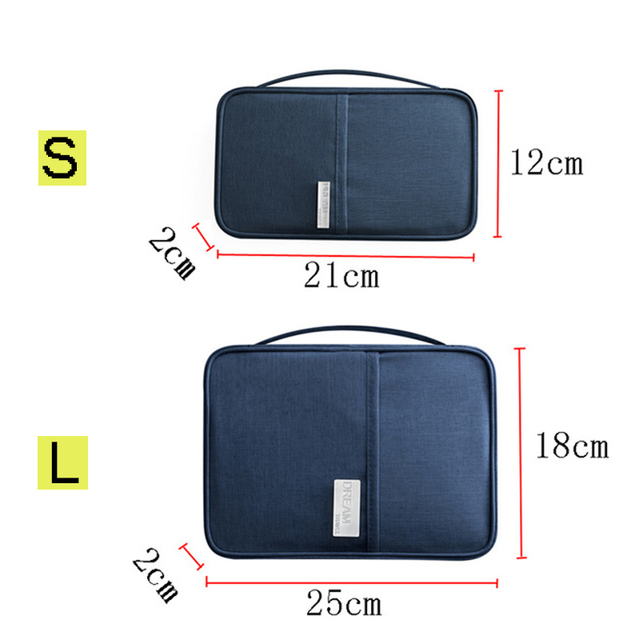 Hot Travel Wallet Family Passport Holder Creative Waterproof Document Case Organizer Travel accessories Document Bag Cardholder 2