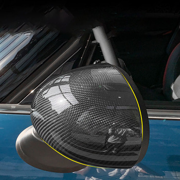 For BMW MINI Cooper F54 F55 F56 F60 R series carbon fiber rearview mirror shell car accessories exterior case accessories