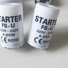 25 шт./лот флуоресцентный стартер 4-65W 220 V/240 V флуоресцентная трубка Предохранителя стартер CE предохранитель, сертифицированный в соответствии с директивой rohs стартеры безопасный стартер