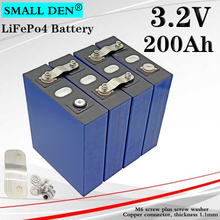 4PCS New 3.2V 200Ah lifepo4 Battery pack 12V 24V200AH DIY solar Energy Storage Inverter electric vehicle golf car EU US tax free