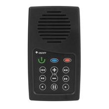 MP3 Player 350MAh Mini Portable Solar Charging MP3 E-Book Bible Reader 4GB Mini Solar Audio Player