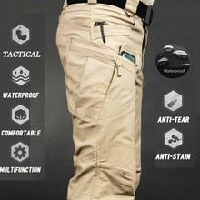 Mens Camouflage Cargo Pants Outdoor Joggers Pant Plus Size Tactical Pants Men Elastic Multiple Pocket Military Male Trousers