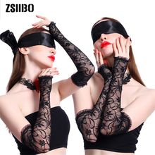 Hot Sex Toys For Women Sexy Lingerie Handcuffs Couple Adult Game Eye Mask Gloves Necklace Exotic Accessories