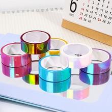 Kawaii Colorful Laser Washi Tape Cute Decorative Scrapbooking Masking Tape DIY Adhesive Tape For Photo Album Japanese Stationery