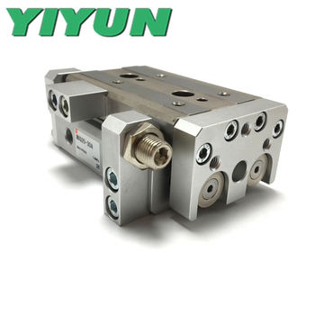 MXQ20-10/20/30/40/50 MXQ20-10A/20A/30A/40A/50A MXQ20-10B/20B/30B/40B/50B C R F P YIYUN cylinder Air Slide Table MXQ Series image