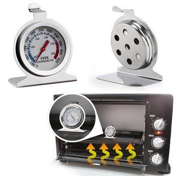 50-300 ° c piekarnik ze stali nierdzewnej termometr jedzenie mięso Grill pomiar termometry Grill wskaźnik temperatury dla domu pieczenie w kuchni tanie i dobre opinie CN (pochodzenie) Oven Thermometer Piekarnik termometry Gospodarstw domowych termometry Metal Skala Digital thermometer Clock thermometer