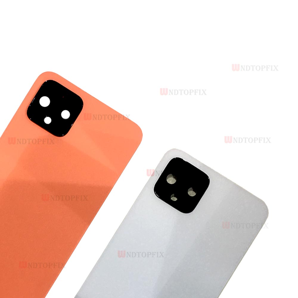 Full New For HTC Pixel 4 XL Back Battery Cover Rear Door Housing Case Replacement Google Pixel 4 Battery Cover With Lens + Glue