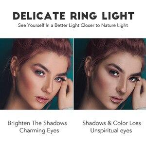 Image 3 - 6/8/10 Inch Ring Light con supporto treppiede LED Circle Lights supporto per telefono per fotocamera Selfie fotografia trucco Video illuminazione dal vivo