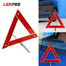 Tripod Sign Board Reflective-Stop-Sign Car Triangle Auto Emergency-Hazard Breakdown LEEPEE