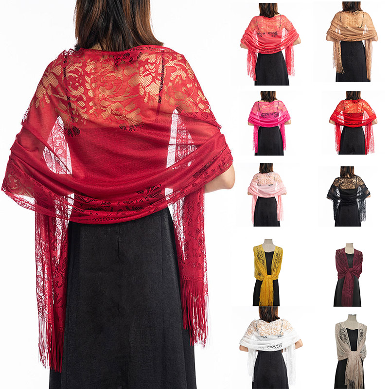 Bridal Bolero Cape For Dress Party Prom Shawl Red Lace Bolero Mariage Shrugs For Women Black Burgundy White Wedding Wrap Bolero