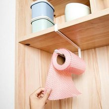 Дверный шкаф висячая бумажная вешалка для полотенец Пробивка кованого железа шкаф перегородка слой стеллаж для хранения держатель рулона