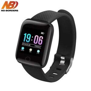 D13 Смарт-часы браслет пульсометр педометры кровяное давление IP67 Водонепроницаемый 116 Plus Wirstband для IOS Android PK IWO 8