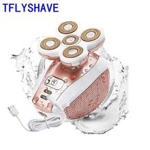 TFLYSHAVE Women Painless Epilator Female ElectricShaver Body Shaver