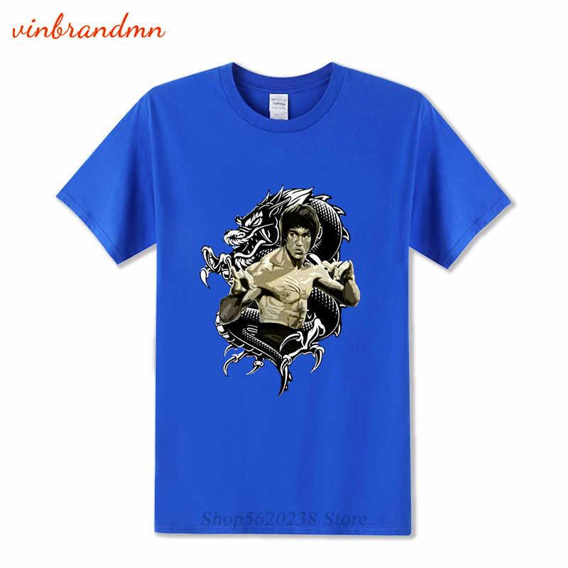 Fashion Bruce Lee Jeet Kune Do Kung Fu Master Men/'S T Shirt