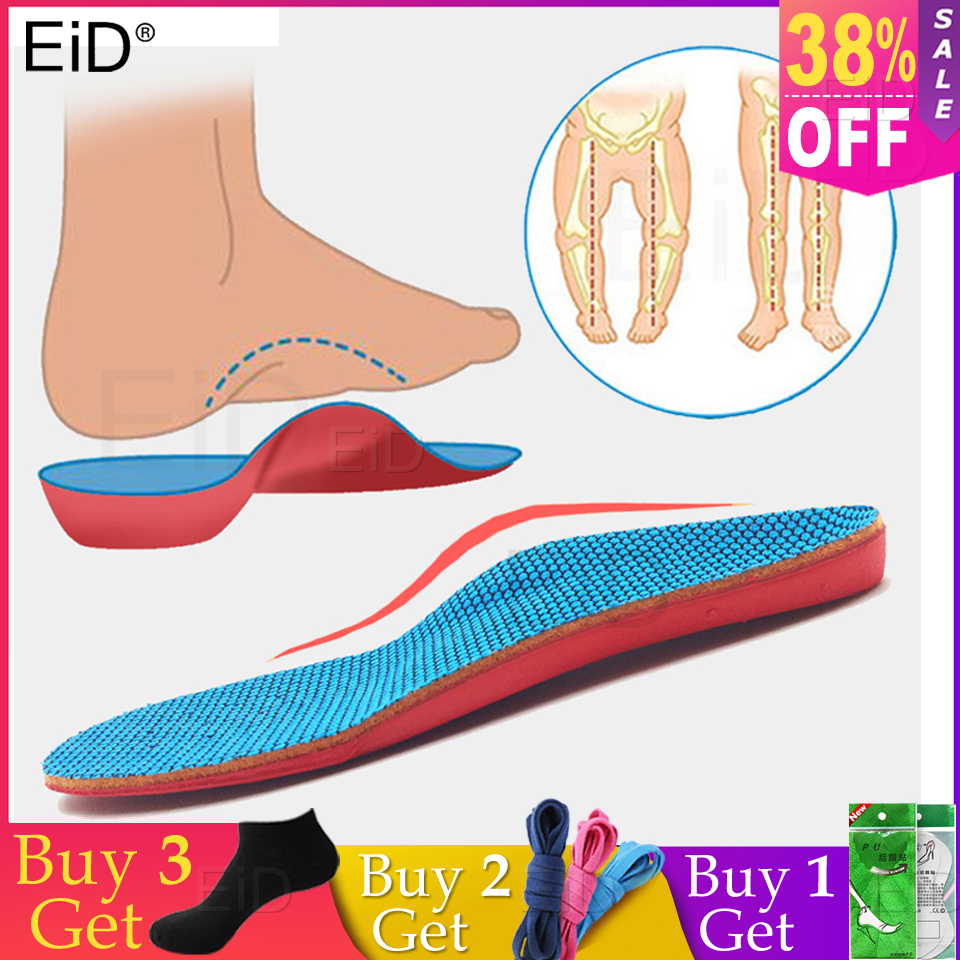 EiD Orthotic Insoles Flat Feet For Kids Children Arch Support Insole For X-Legs Child Orthopedic Shoes Sole Insoles Foot Care