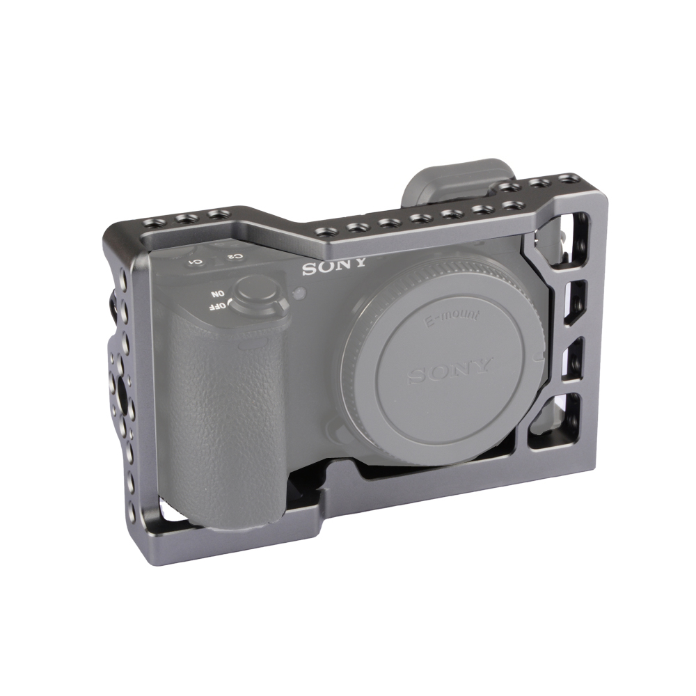 Kayulin New Design Titanium Dslr camera Cage for <font><b>Sony</b></font> <font><b>A6500</b></font> image