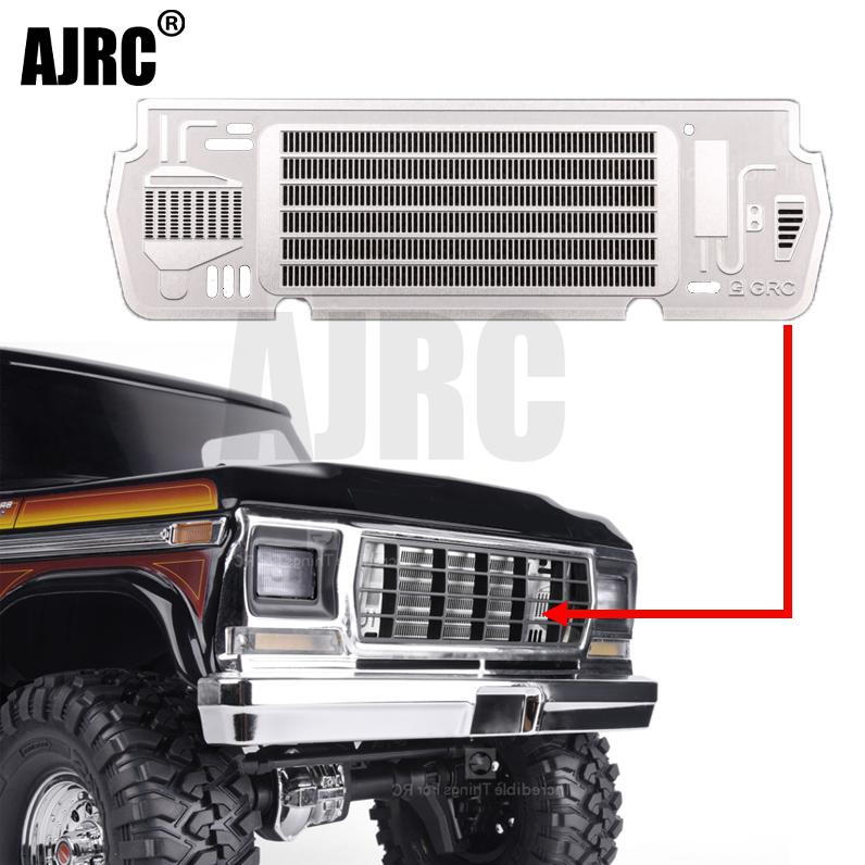TRAXXAS TRX-4 Mustang BRONCO Simulation Cooling Decoration Metal Heat Sink For 1/10 Rc Crawler Car water tank piece