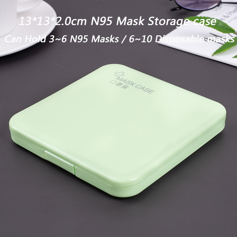 N95 Square Green