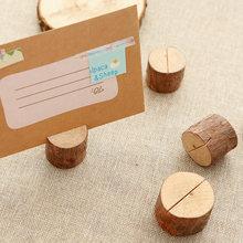 10 шт деревянные зажимы держатели для карт и фото