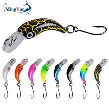 Floating Minnow Hook Trout Fishing-Lure Crankbait Wobbler Hard-Bait Pike Artificial Mini