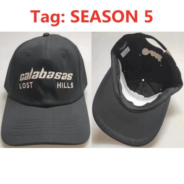 Calabasas-casquette de Baseball | Casquettes de Baseball, saison 5, chapeaux de haute qualité 11 broderie LOST HILLS, casquette hommes femmes, appel chapeau de sport, Kanye ouest