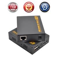 Navceker KVM HDMI USB Extender Over TCP IP 150m IR HDMI KVM Extender RJ45 By CAT5e CAT6 1080P IP KVM Extender HDMI IP Network|hdmi usb|hdmi hdmiusb cable hdmi cable -