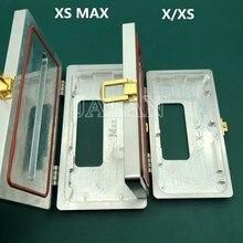 หน้าจอLCDกรอบหนีบแม่พิมพ์สำหรับX XS XSMAX LCDกรอบHolding Togetherใช้ซ่อมกาว