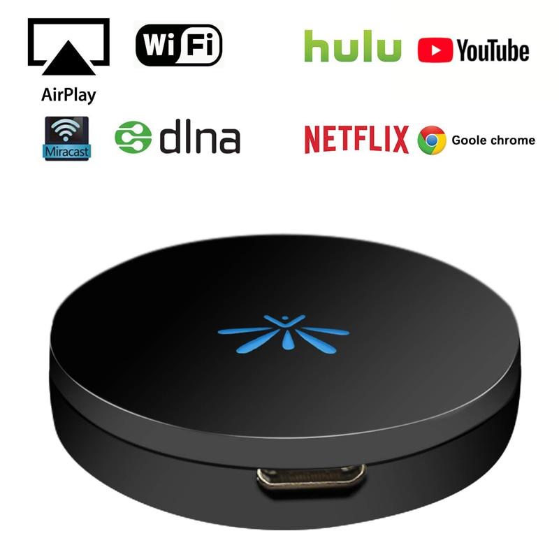 10 шт. G6 Plus tv Stick 2,4 ГГц видео WiFi дисплей ключ HD Цифровой HDMI медиа видеостример приемник для ТВ тюнера для Chromecast 2 - 4